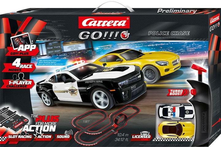 Police Chase Carrera Go! Plus 2 voitures de course incluses 746233100000 Photo no. 1