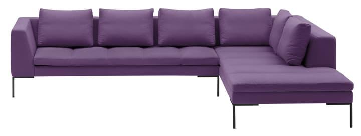 BADER Ecksofa 405686450623 Grösse B: 319.0 cm x T: 230.0 cm x H: 80.0 cm Farbe Violett Bild Nr. 1