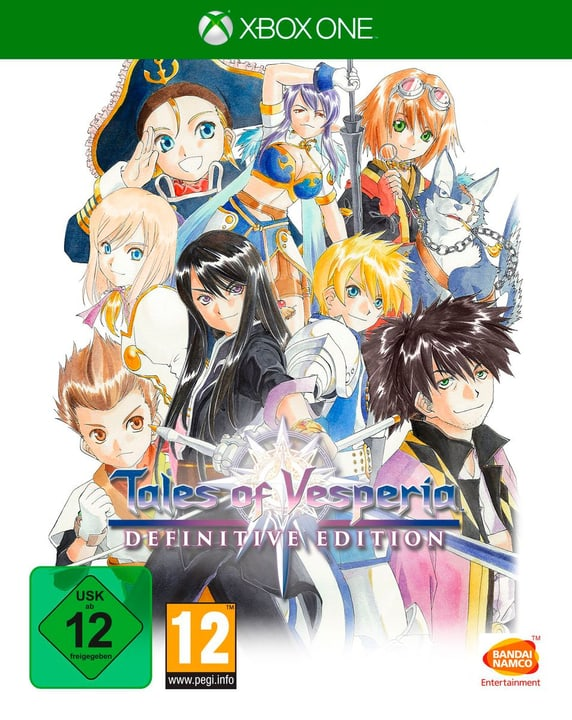 Xbox One - Tales of Vesperia: Definitive Edition Box 785300138793 N. figura 1