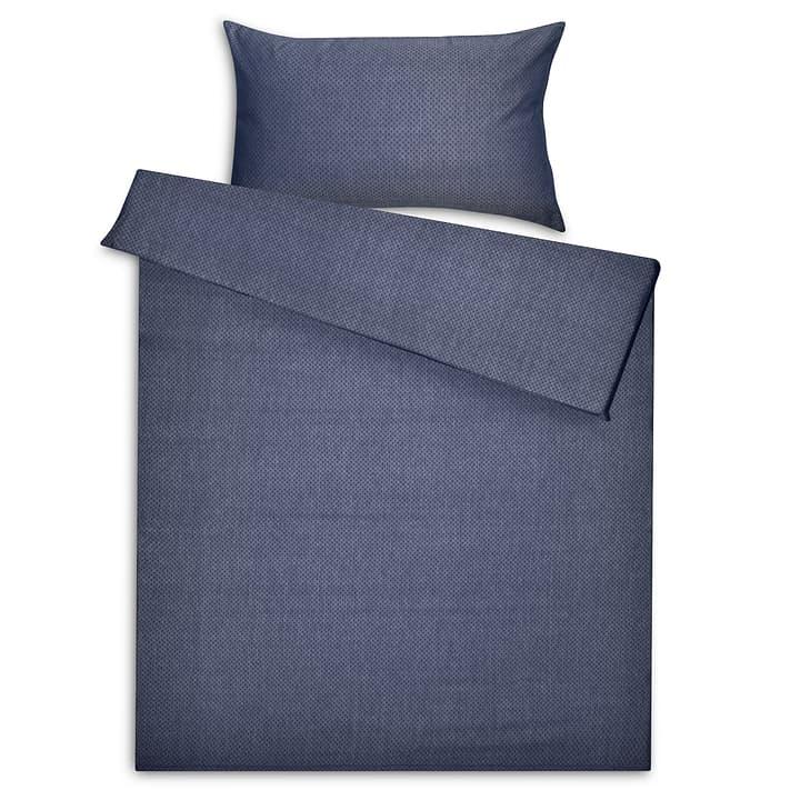 RAY Federa per cuscino jacquard 376071910840 Dimensioni L: 70.0 cm x L: 50.0 cm Colore Blu N. figura 1