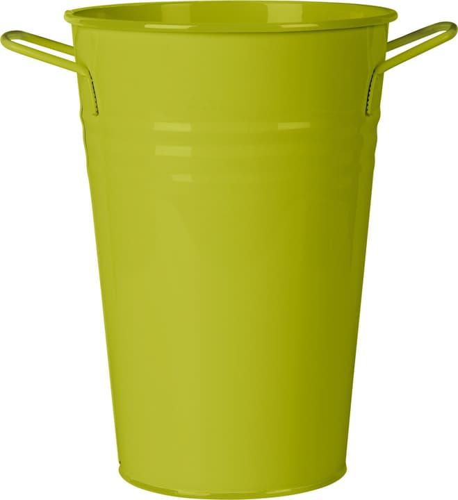 Contenitore con manico in metallo 631326400000 Taglio B: 21.0 cm x T: 15.0 cm x H: 30.0 cm Colore Verde N. figura 1