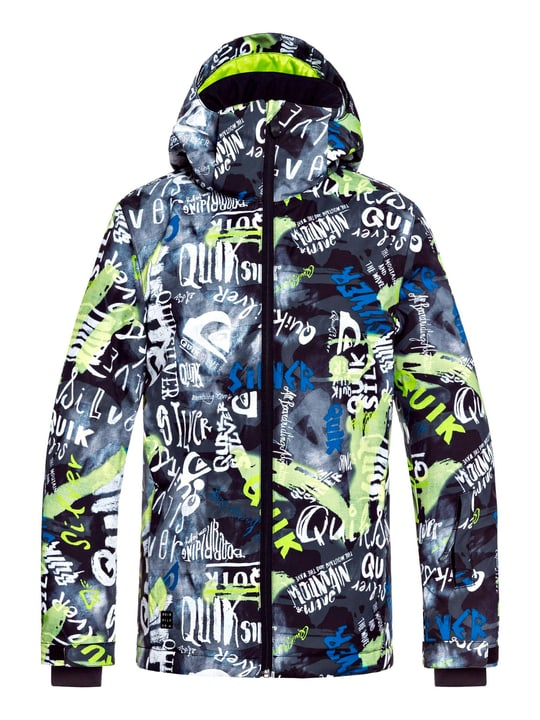 MISS YOUTH Veste de snowboard pour garçon Quiksilver 464582014093 Couleur multicolore Taille 140 Photo no. 1