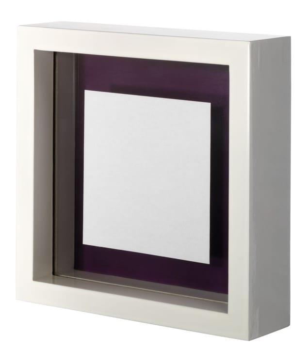 AMSTERDAM Cadre de photo 431020200000 Couleur Blanc Dimensions L: 10.0 cm x P: 10.0 cm x H:  Photo no. 1