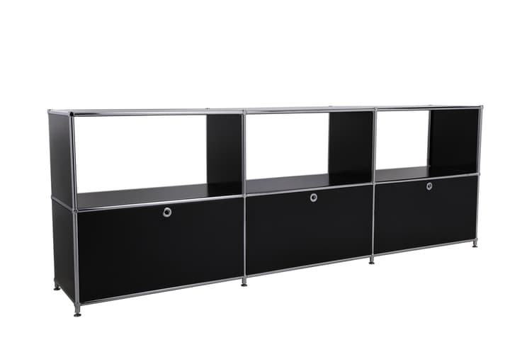 FLEXCUBE Buffet 401814630220 Dimensions L: 227.0 cm x P: 40.0 cm x H: 80.5 cm Couleur Noir Photo no. 1