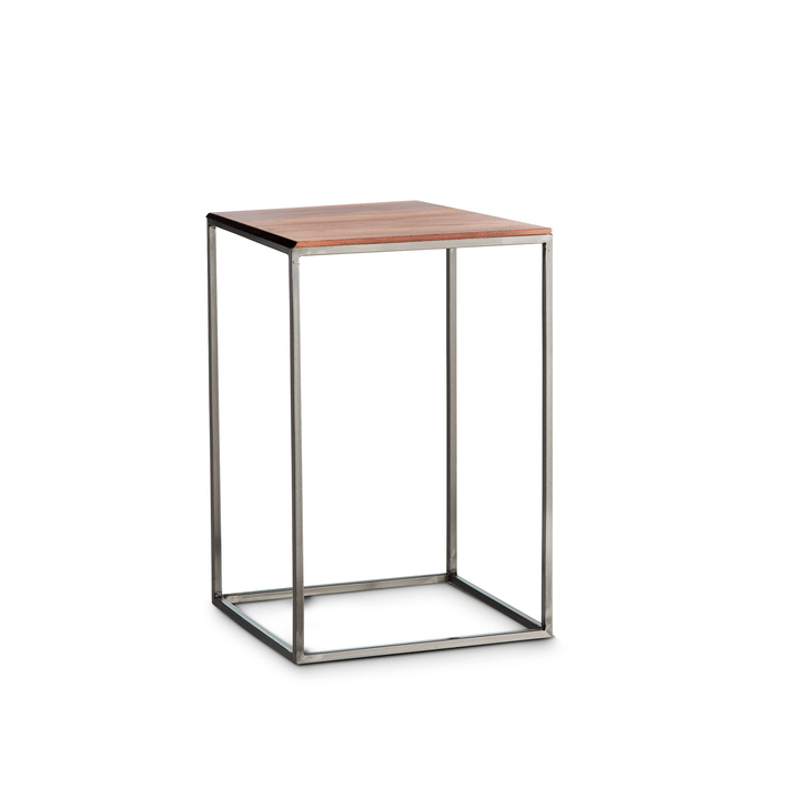 COFFEE table d'appoint 362233500000 Couleur Noyer Dimensions L: 30.0 cm x P: 30.0 cm x H: 46.0 cm Photo no. 1