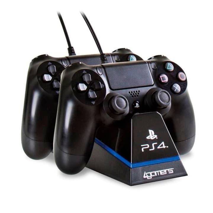 Charge Play & Charge mit Desktop Stand schwarz 4gamers 785300124154 Bild Nr. 1
