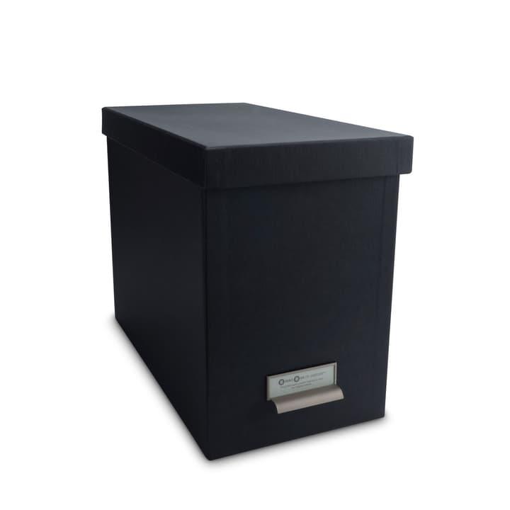 BIGSO CLASSIC Box mit Register 386001659733 Grösse B: 35.0 cm x T: 19.0 cm x H: 26.5 cm Farbe Dunkelgrau Bild Nr. 1