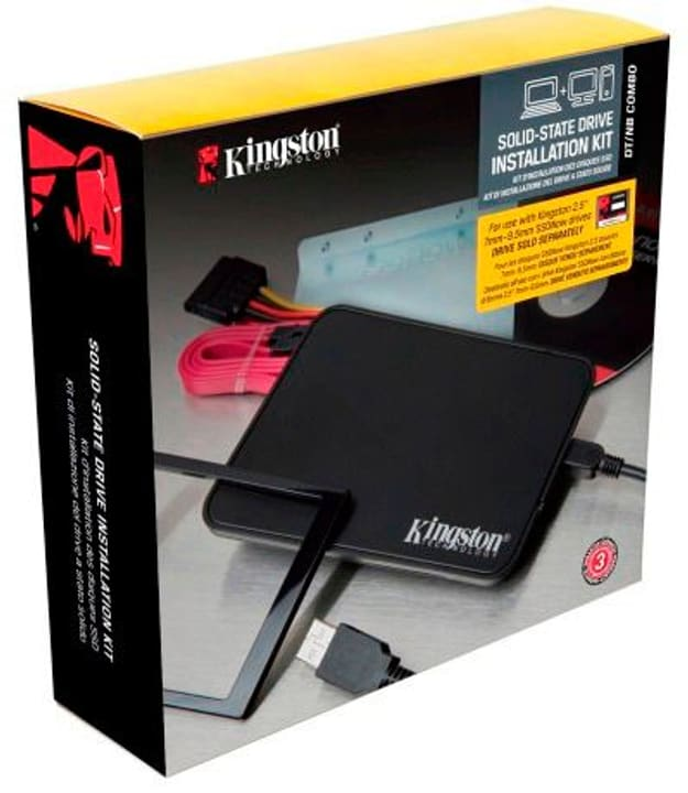 SSD Intallation Kit Kingston 785300127327 Bild Nr. 1