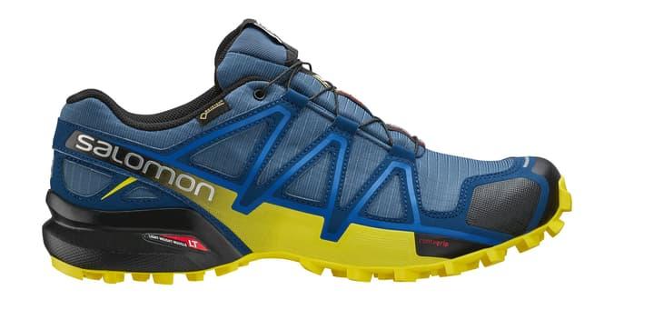 Speedcross 4 GTX Chaussures de course pour homme Salomon 461643144522 Couleur bleu foncé Taille 44.5 Photo no. 1