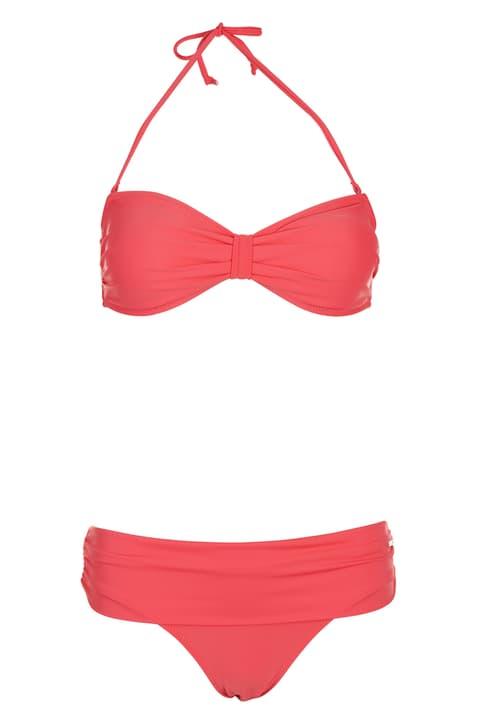 Bikinibandeu pour femme Extend 462165003657 Couleur corail Taille 36 Photo no. 1
