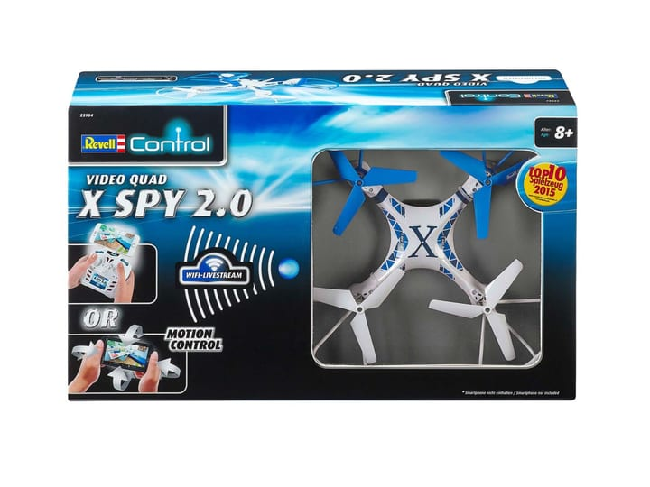 WiFi-Quadcopter X-Spy 2.0 746210100000 Bild Nr. 1