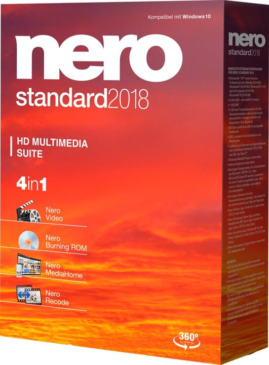 Nero Standard 2018 Nero 785300131755 Photo no. 1