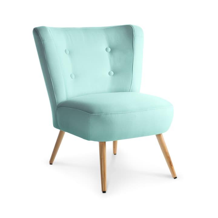 NEELE II Sessel 360039588403 Grösse B: 72.0 cm x T: 67.0 cm x H: 80.0 cm Farbe Hellblau Bild Nr. 1