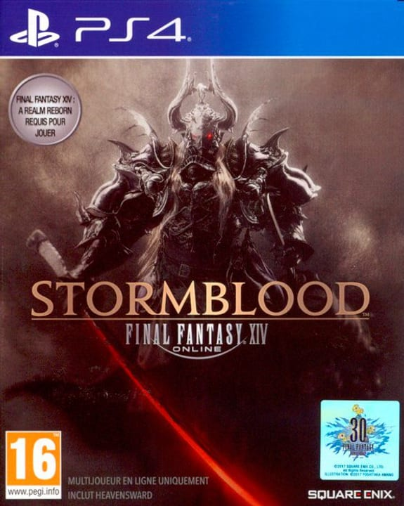 PS4 - Final Fantasy XIV: Stormblood (Add-On) Physique (Box) 785300122316 Photo no. 1