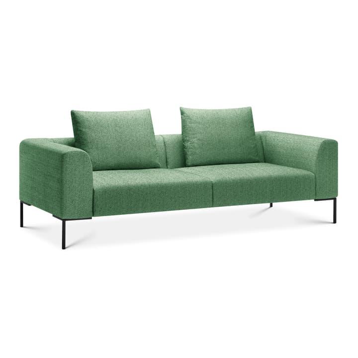 CATHIE Divano da 3 posti 366152230360 Colore Verde Dimensioni L: 243.0 cm x P: 97.0 cm x A: 94.0 cm N. figura 1
