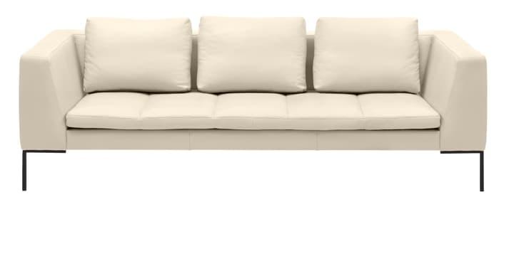 BADER 3er-Sofa 405686130311 Grösse B: 238.0 cm x T: 105.0 cm x H: 80.0 cm Farbe Ecru Bild Nr. 1