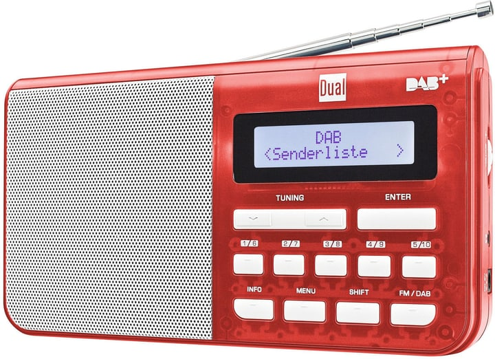 DAB 4.1 T - Rouge Radio DAB+ Dual 773022300000 Photo no. 1