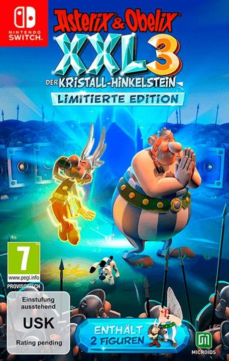 NSW - Asterix & Obelix XXL 3: Der Kristall-Hinkelstein - Limitierte Edition Box 785300148920 Photo no. 1