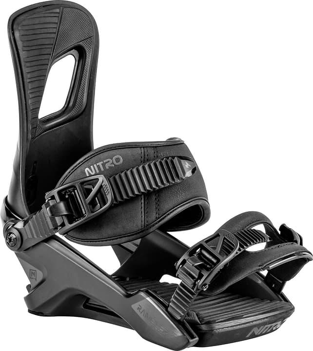 Rambler Fixations de snowboard Nitro 494827900520 Couleur noir Taille L Photo no. 1