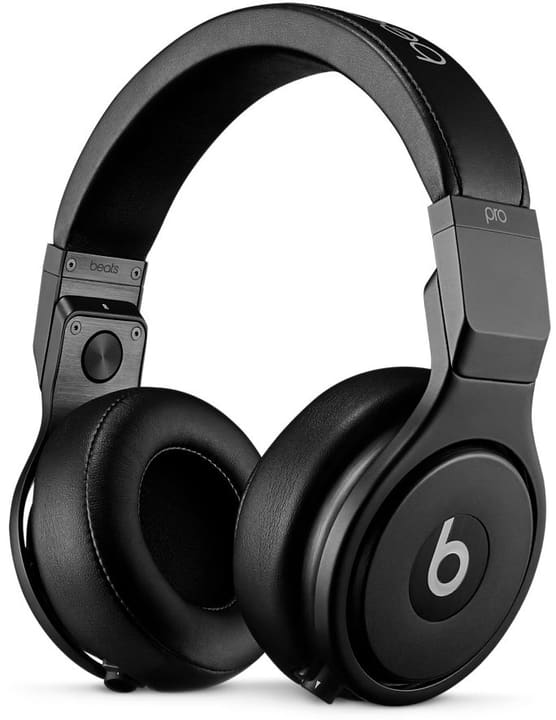 Beats Pro Infinite Black Over-Ear Headphone Studio quality, daisy-chain (RCH) - noir Beats By Dr. Dre 785300130812 Photo no. 1