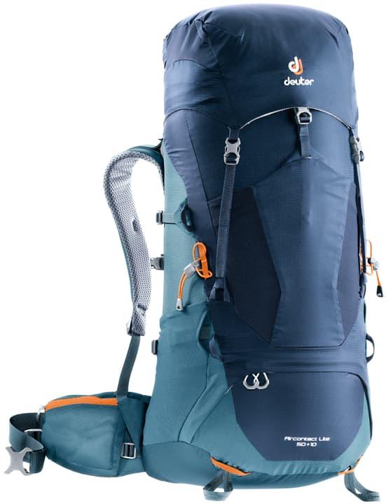 Aircontact Lite 50+10 Zaino da trekking Deuter 460258700040 Colore blu Taglie Misura unitaria N. figura 1