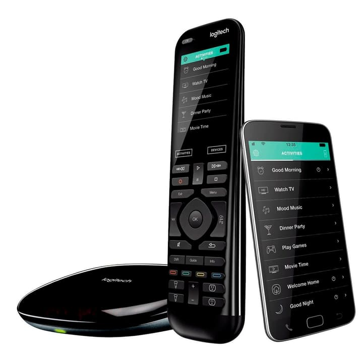 Harmony Elite Télécommande universelle avancée, hub et application Logitech 785300124176 Photo no. 1