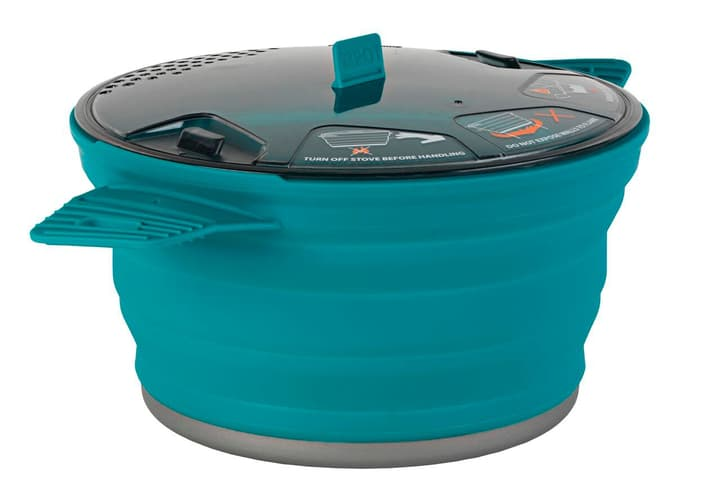 X-Pot casserole Sea To Summit 491283300065 Couleur petrol Taille Taille unique Photo no. 1