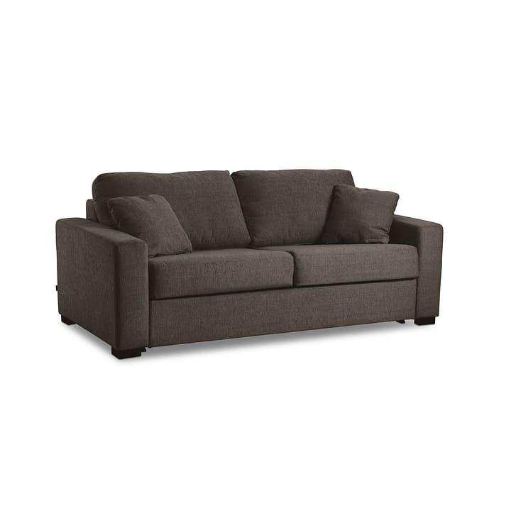 GEORGE Nancy canapé-lit à 3 places 360208800000 Dimensions L: 140.0 cm x P: 195.0 cm Couleur Brun Photo no. 1