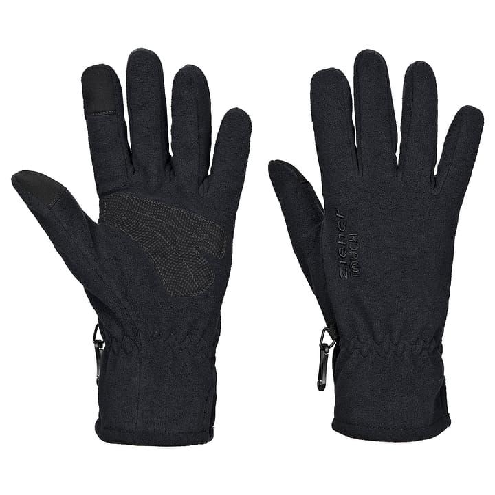 Unisex-Fleecehandschuhe mit Touchfunktion Ziener 496473709520 Farbe schwarz Grösse 9.5 Bild-Nr. 1