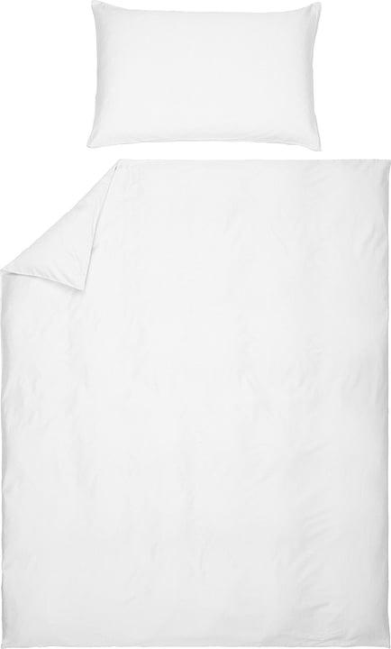 ROYAL DREAM Satin-Duvetbezug 451303412510 Farbe Weiss Grösse B: 200.0 cm x H: 210.0 cm Bild Nr. 1