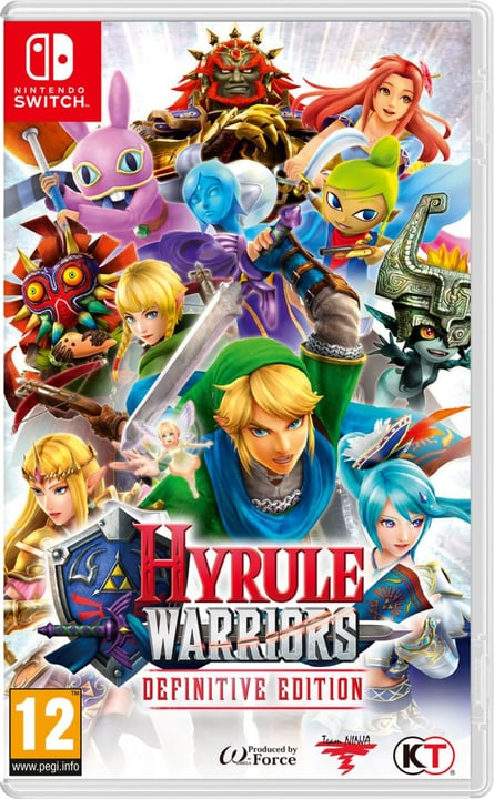 Switch - Hyrule Warriors: Definitive Edition (D) Fisico (Box) 785300133193 N. figura 1