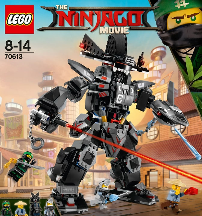 LEGO NINJAGO Garmadon Squalo Mech 70613 748848700000 N. figura 1