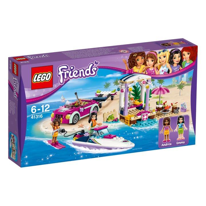 LEGO Friends Andreas Rennboot-Transporter 41316 748844400000 Bild Nr. 1