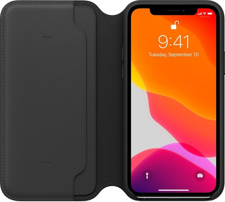 Apple iPhone 11 Pro Leather Folio Noir Cas Apple 785300146962 Photo no. 1