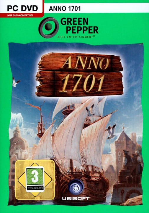 PC - Green Pepper: Anno 1701 Fisico (Box) 785300121606 N. figura 1