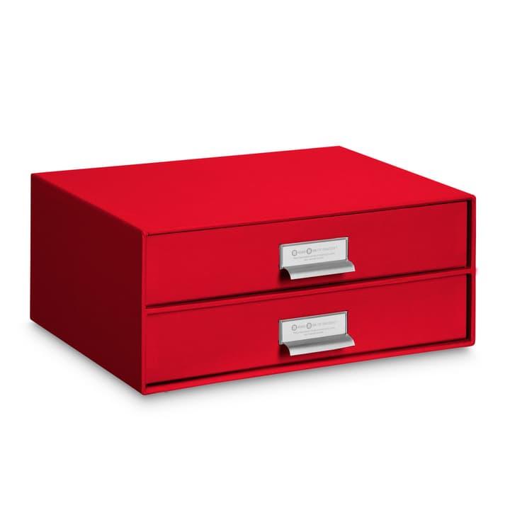 BIGSO CLASSIC Boîte avec tiroirs 386257800000 Dimensions L: 25.0 cm x P: 33.5 cm x H: 14.0 cm Couleur Rouge Photo no. 1
