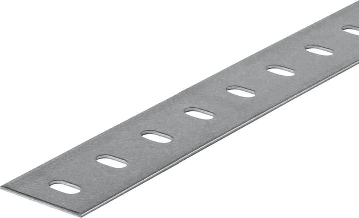 Flachstange 1.5 x 35.5 mm gelocht  verzinkt 1 m alfer 605037700000 Bild Nr. 1