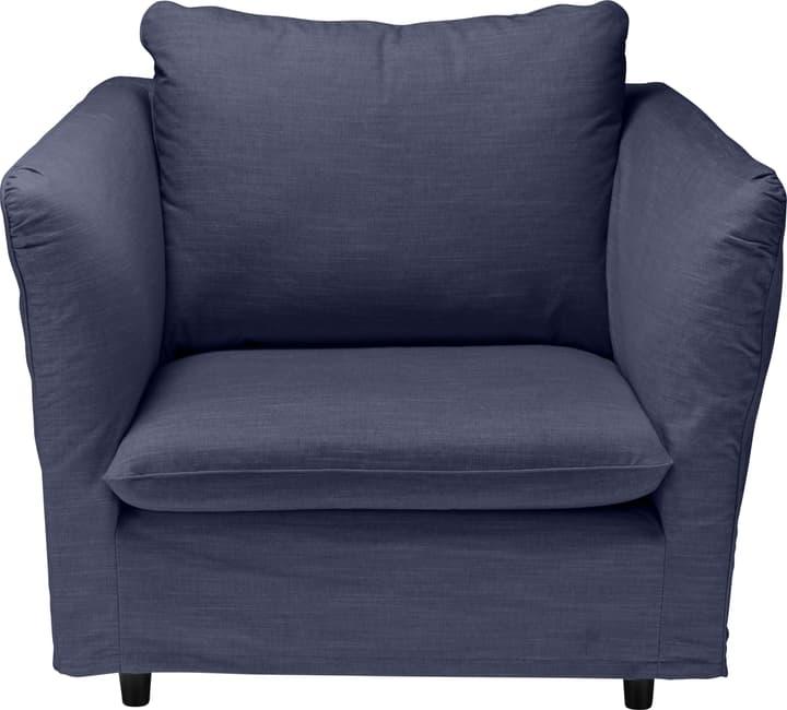 MAY Fauteuil 402464907040 Dimensions L: 104.0 cm x P: 102.0 cm x H: 88.0 cm Couleur Bleu Photo no. 1
