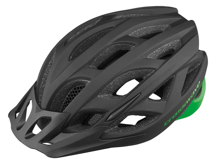 Zelon Casco da bicicletta Crosswave 470290154020 Colore nero Taglie 54-58 N. figura 1