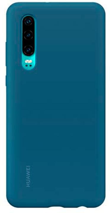 Hard-Cover Silicone blue Custodia Huawei 785300143234 N. figura 1