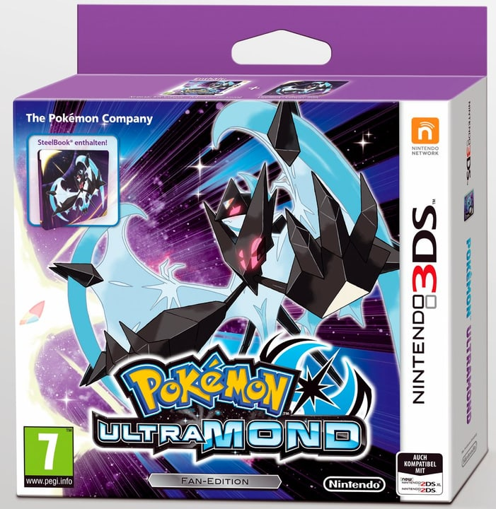 3DS - Pokémon Ultraluna - Fan Edition 785300129026