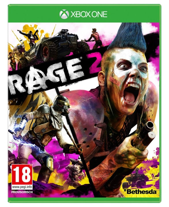 Xbox One - RAGE 2 Box 785300142578 Langue Allemand Plate-forme Microsoft Xbox One Photo no. 1