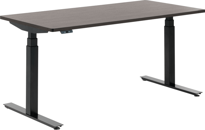 FLEXCUBE Bureau 401836200000 Dimensions L: 160.0 cm x P: 80.0 cm x H: 75.0 cm Couleur Noyer Photo no. 1