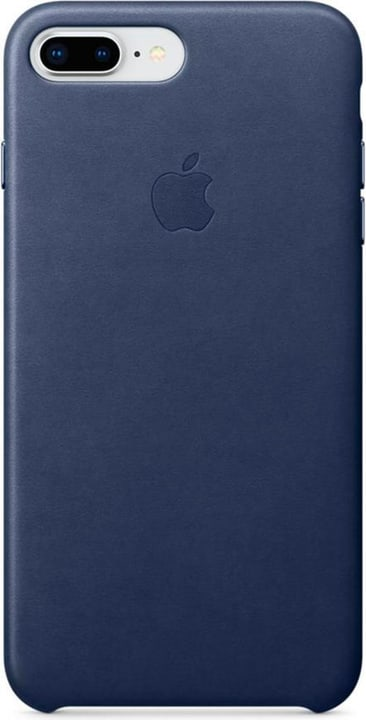 iPhone 8 Plus / 7 Plus Leather Case Bleu Nuit Apple 798417600000 Photo no. 1