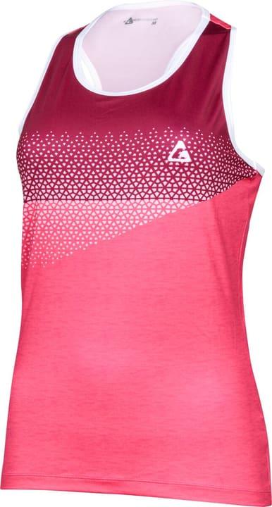 Maglietta da donna Crosswave 461388104217 Colore lampone Taglie 42 N. figura 1