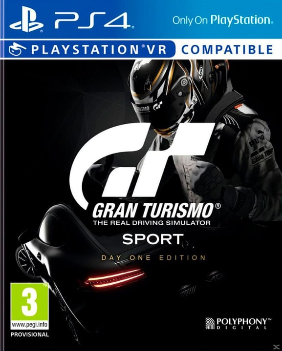 PS4 - Grand Turismo Sport - Standard plus Edition Box 785300130017 Bild Nr. 1