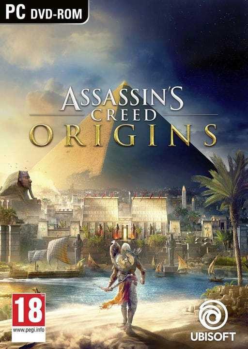 PC - Assassins Creed Origins Physique (Box) 785300122676 Photo no. 1