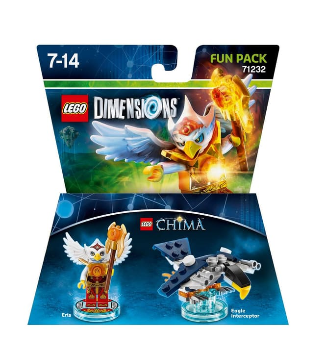 LEGO Dimensions Fun Pack Chima Eris Box 785300120042 N. figura 1
