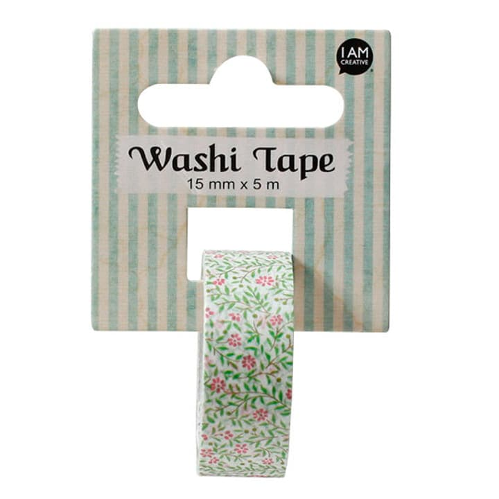 Washi Tape Printemps I AM CREATIVE 666124800000 N. figura 1