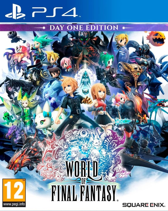 PS4 - World of Final Fantasy D1 Edition Box 785300121399 N. figura 1